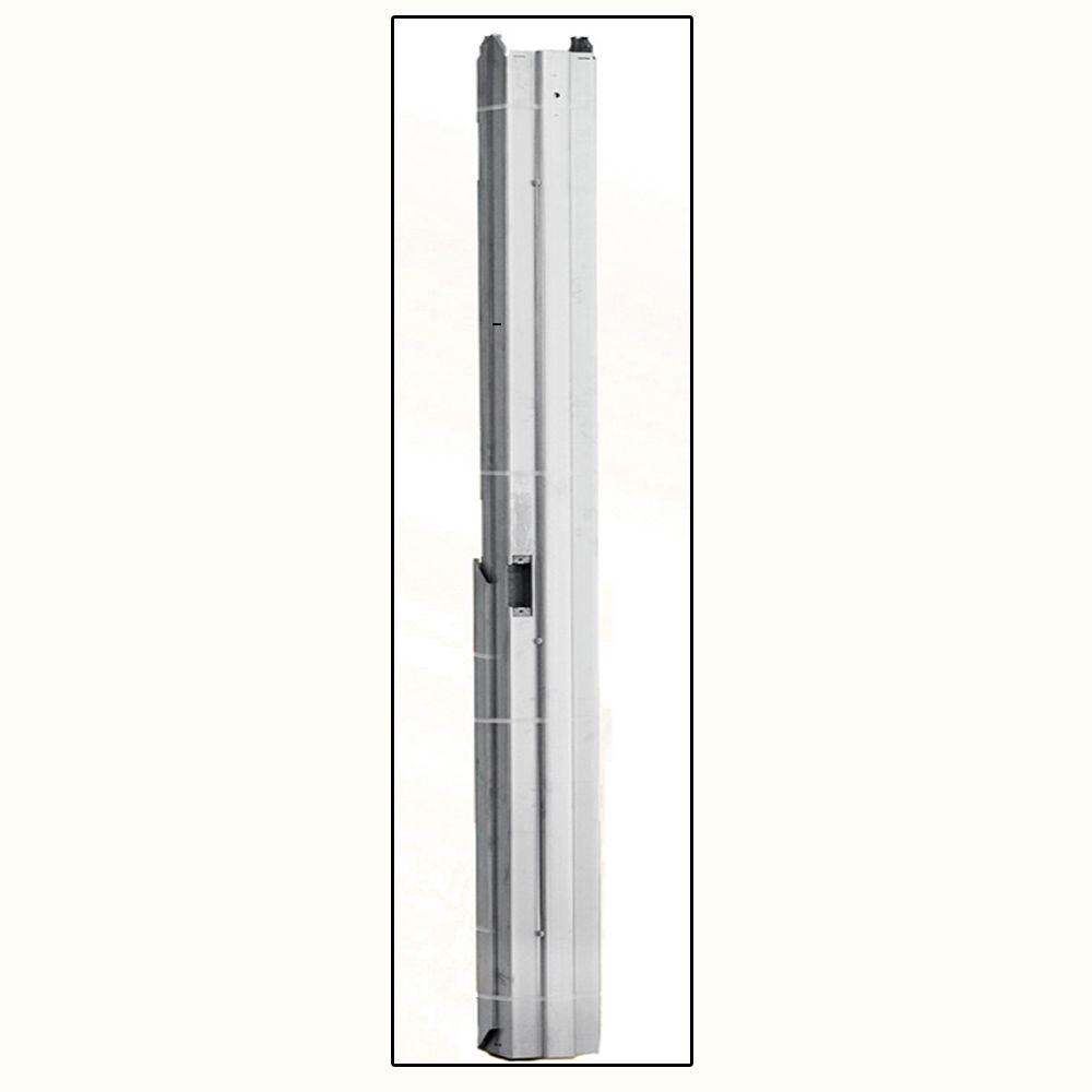 36 in. x 84 in. Right-Hand Steel Knock Down Door Frame