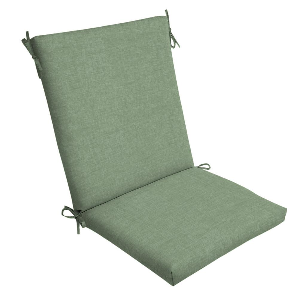 20 x 20 Jade Leala Texture Outdoor Dining Chair Cushion