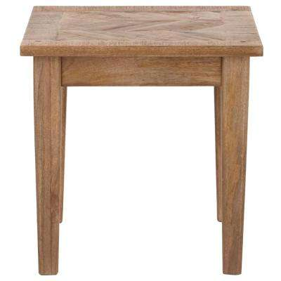 Parquetry French Grey End Table