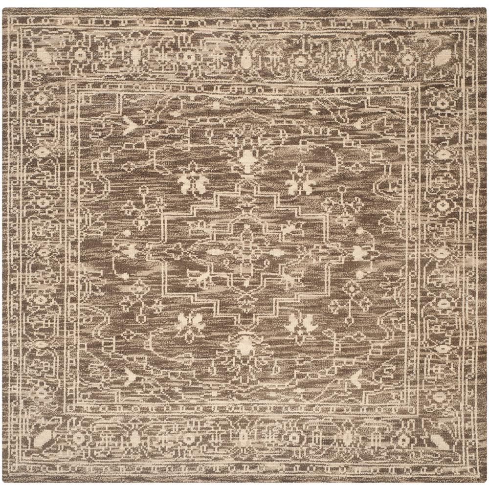Safavieh Kenya Brown Beige 7 Ft X Square Area Rug