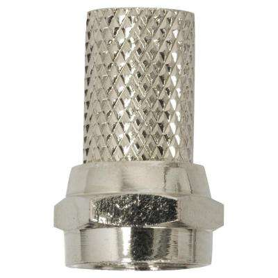 RG6 Coaxial Twist-On Connector (10-Pack)