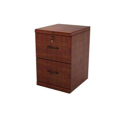 2-Drawer Cherry Vertical File