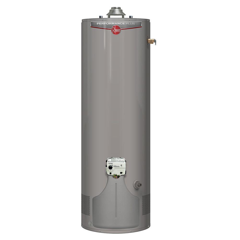 Rheem Performance Plus 50 Gal. Tall 9 Year 36,000 BTU High Efficiency Ultra Low NOx Natural Gas Water Heater