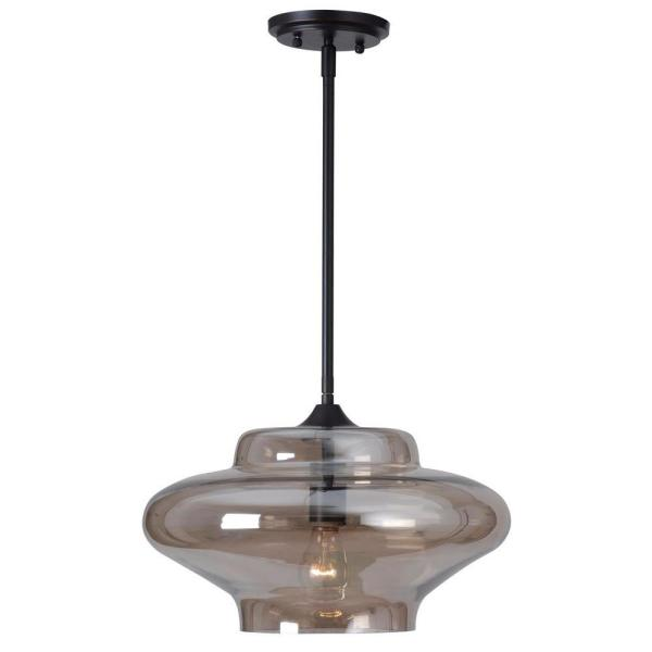 Sanborn 1-Light Oil Rubbed Bronze Ceiling Pendant