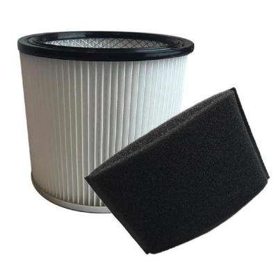 Replacement Filter Cartridge & Foam Filter, Fits Shop-Vac Wet & Dry Vacs, Compatible with Part 90304, 90585-00 & 9058562