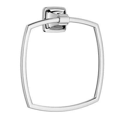 Townsend Towel Ring in Polished Chrome
