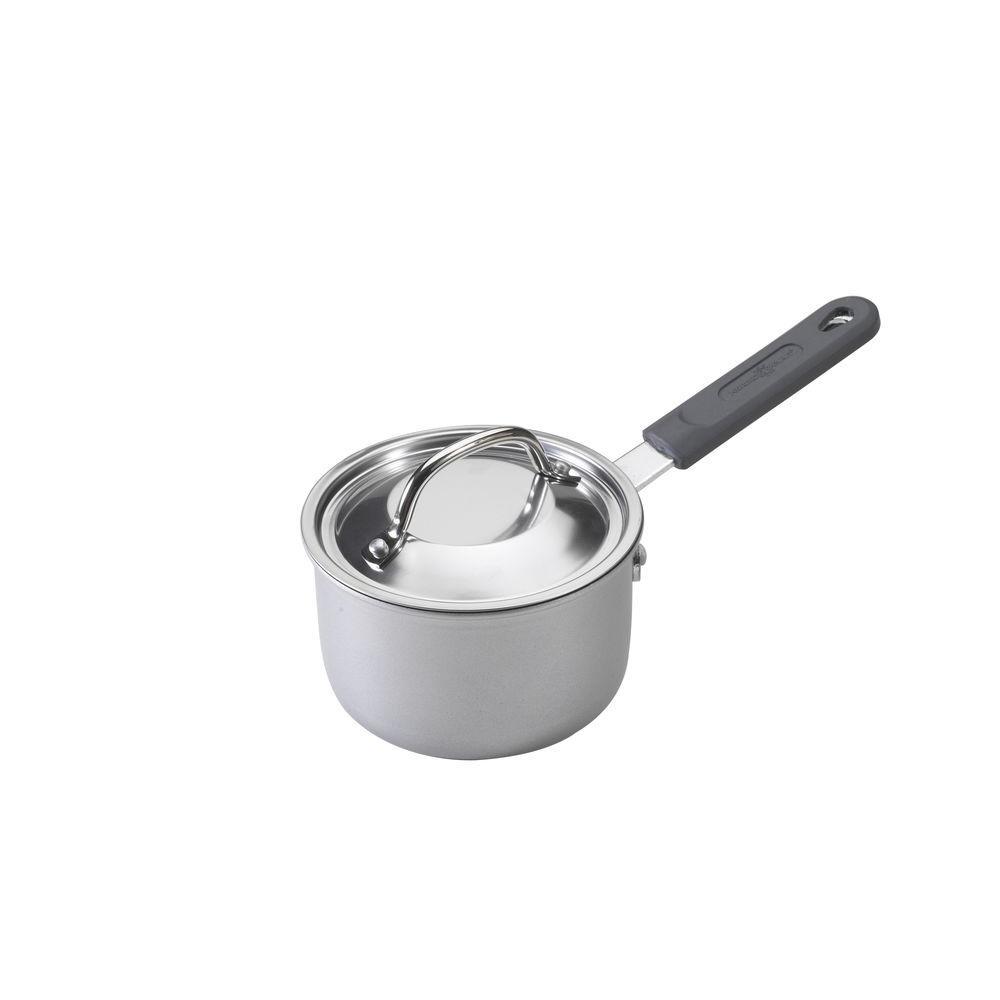 1.5 Qt. Aluminum Saucepan with Lid