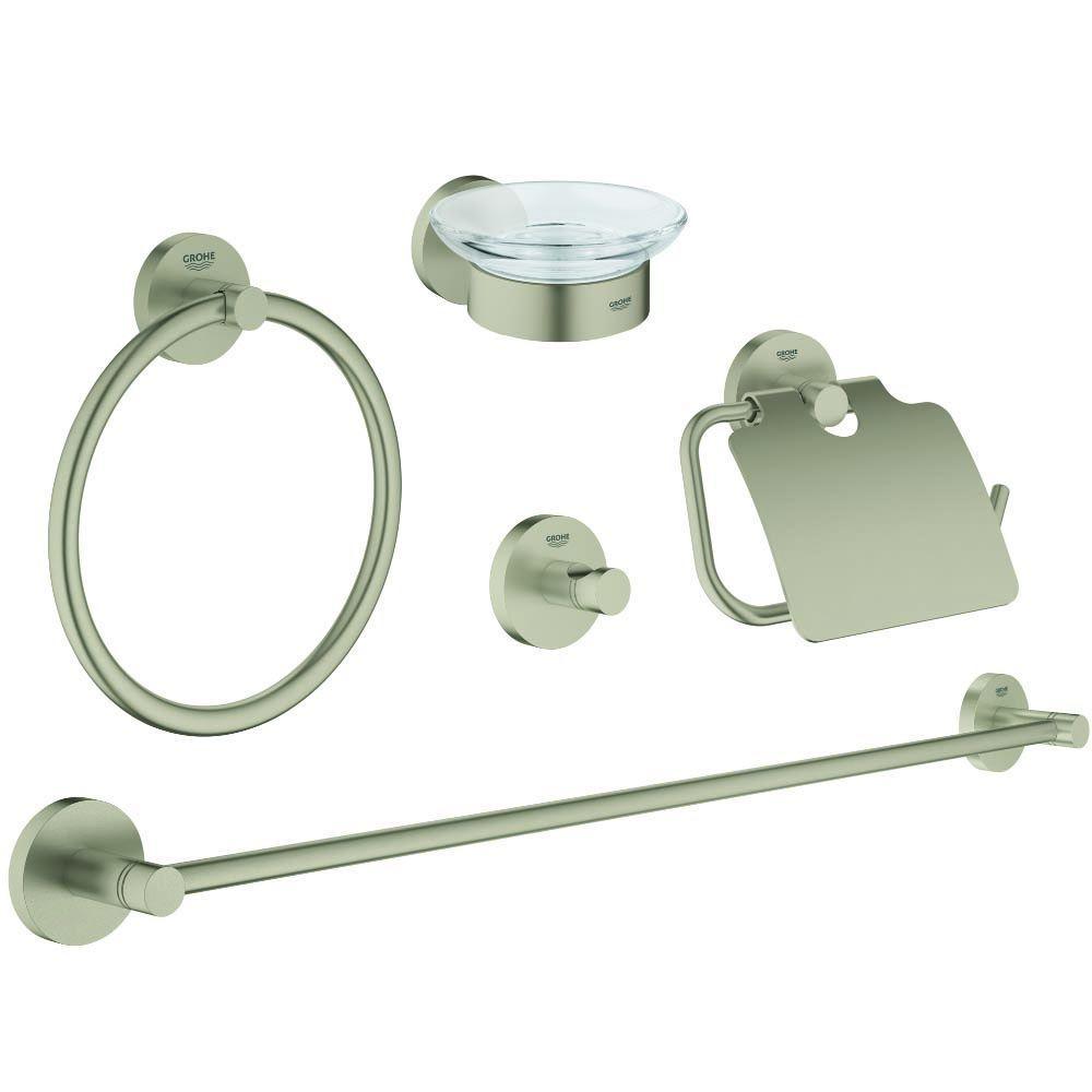 Bath Hardware Sets Brushed Nickel Bathroom Hardware Sets Brushed Nickel Shop Pfister 3 Piece