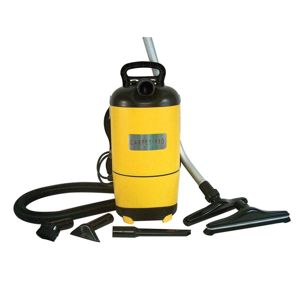 Carpet Pro Commercial Backpack Vacuum