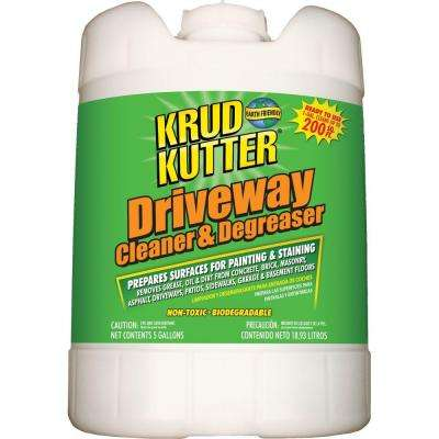 5 gal. Driveway Cleaner and Degreaser