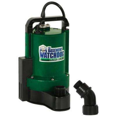 1/3 HP Submersible Utility Pump with Automatic Switch