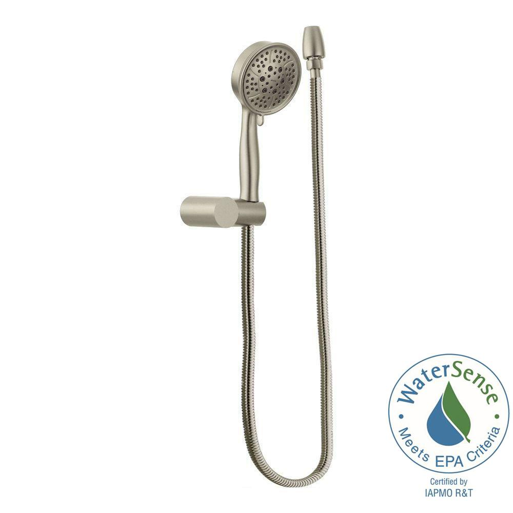 Moen 4 Spray Eco Performance Handheld Handshower With Wall Bracket