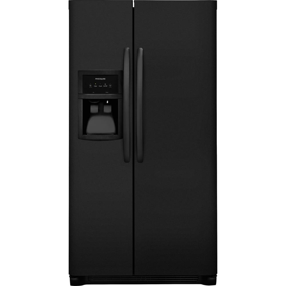 33 in. W 22 cu. ft. Side by Side Refrigerator in