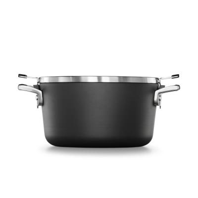 Select 6 Qt. Space Saving Stock Pot with Cover