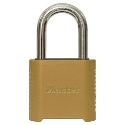 875DLF 2 in. Wide Zinc Set Your Own Combination Padlock with 1-1/2 in. Extra Long Shackle