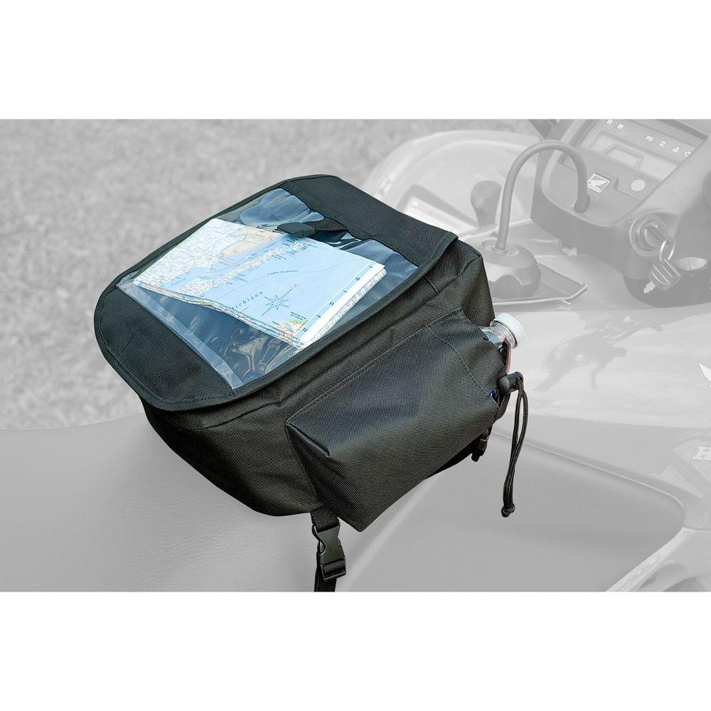 Black ATV Gear/Map Bag