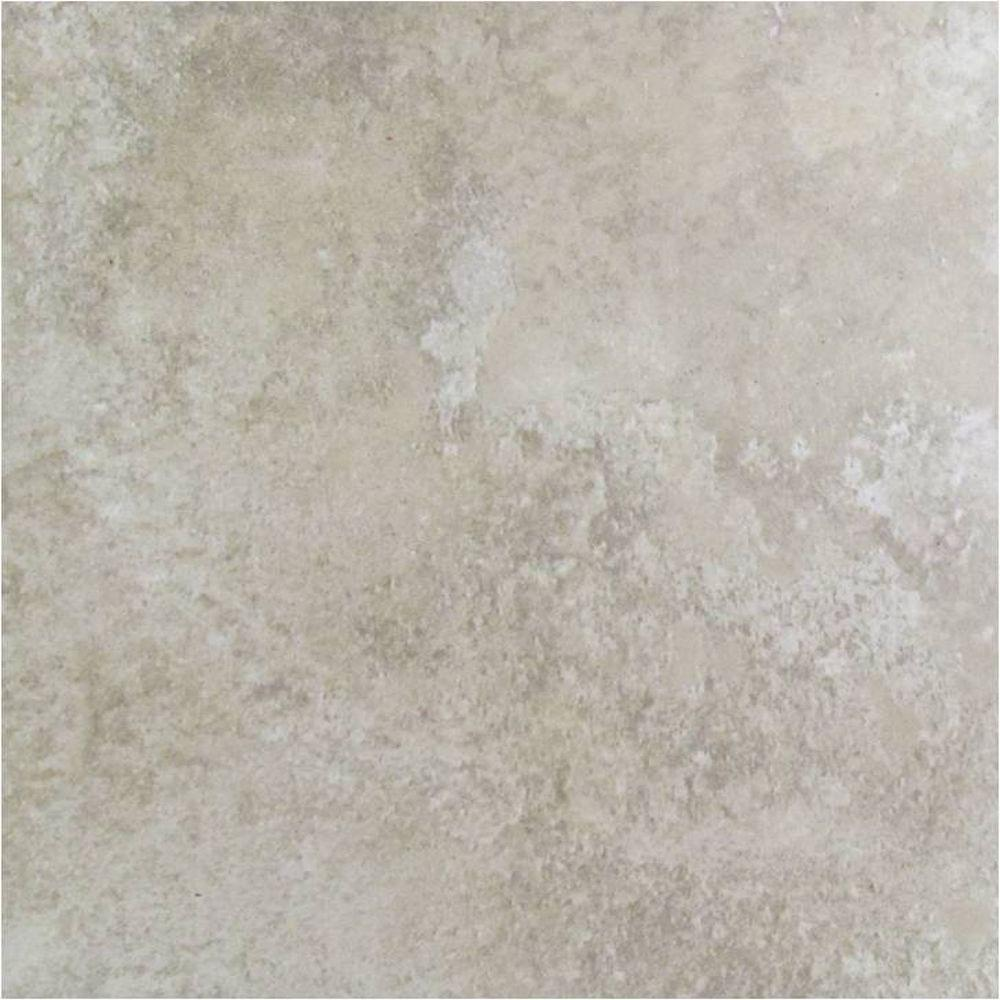 Marazzi earth sand 18 in x 18 in glazed ceramic floor for Marazzi tile