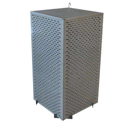 Folding Steel Burn Cage and Fire Pit Screen