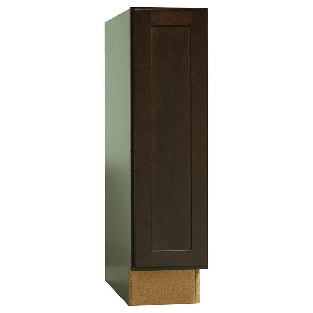 Order Custom Kitchen Cabinets Online: Hampton Bay Shaker Assembled 9x34.5x24 In. Base Kitchen