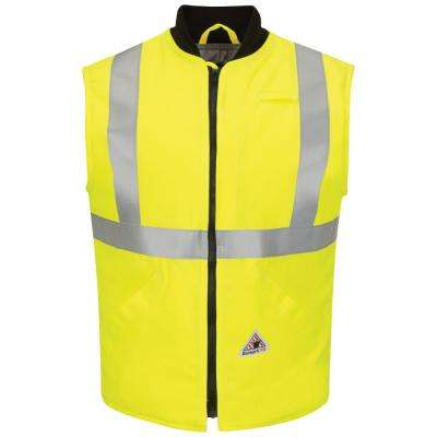 Men's 3X-Large Yellow/Green Hi-Visibility Insulated Vest