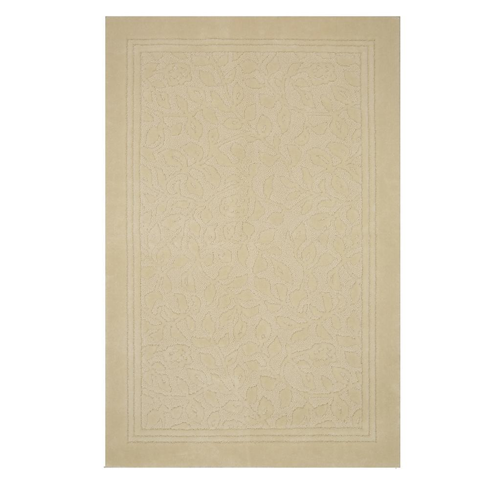 Wellington 30 in. x 50 in. Nylon Bath Rug in Ivory