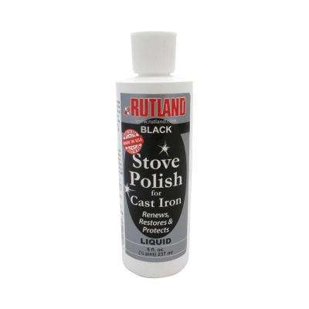 8 fl. oz. Liquid Stove and Grill Polish Bottle