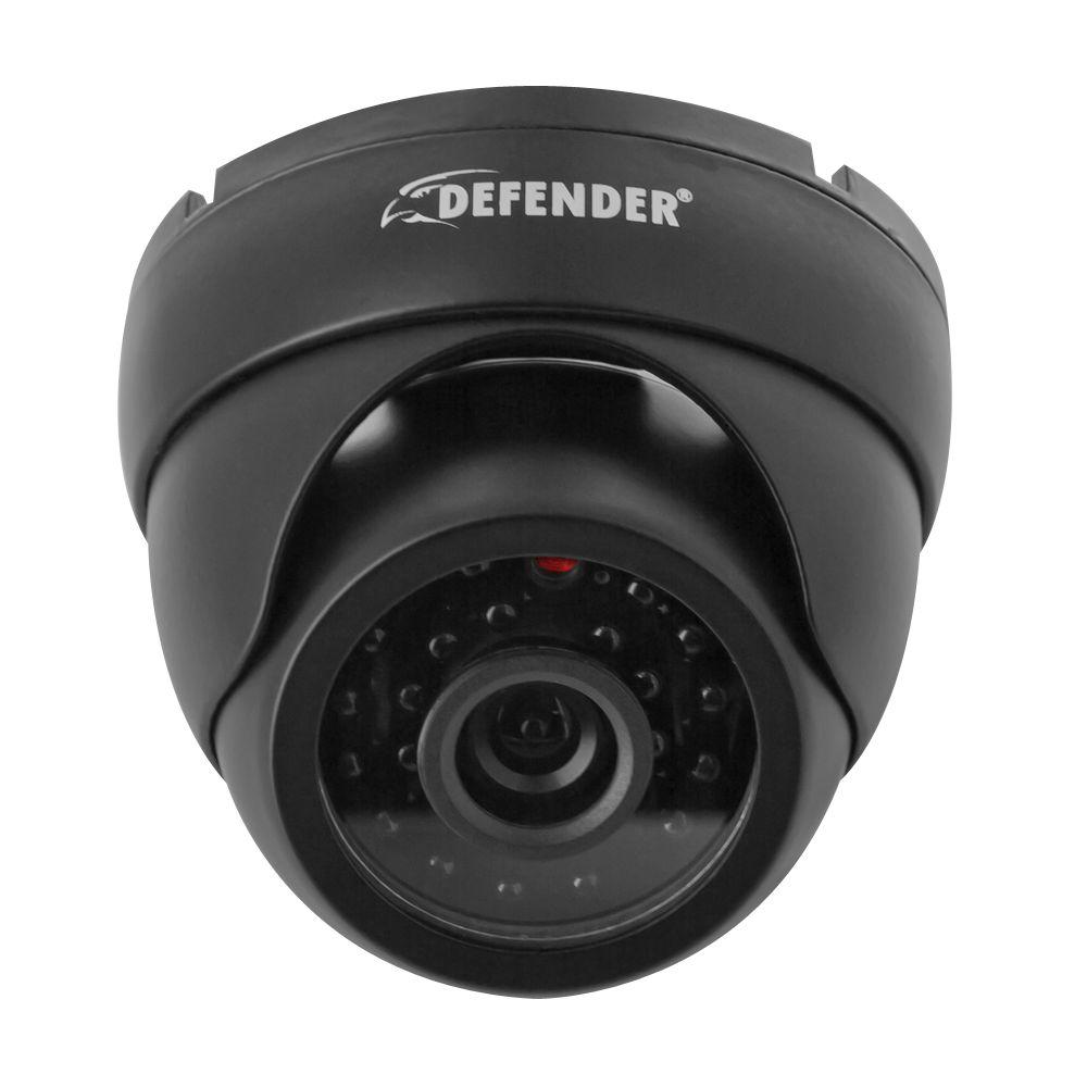 Defender Ultra Wired 600 TVL High Resolution Indoor/Outdoor Dome Security Camera