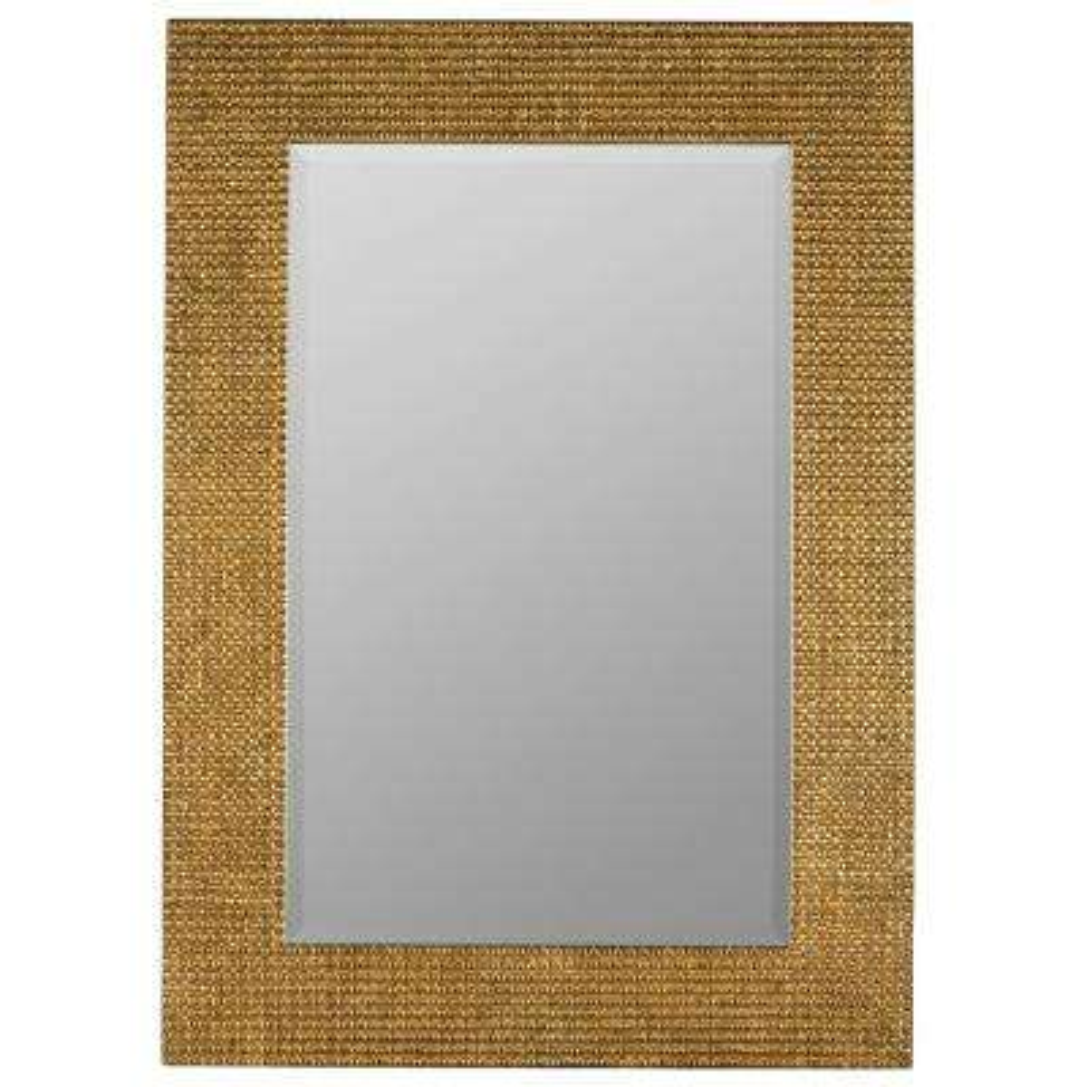 Harvey Aged Gold Decorative Mirror