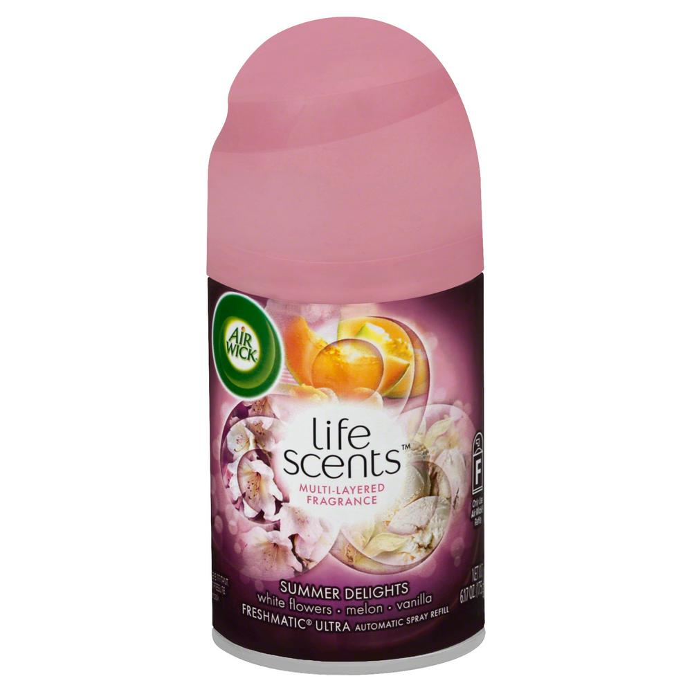Life Scents Freshmatic Ultra 6.17 oz. Summer Delights Automatic Spray Refill