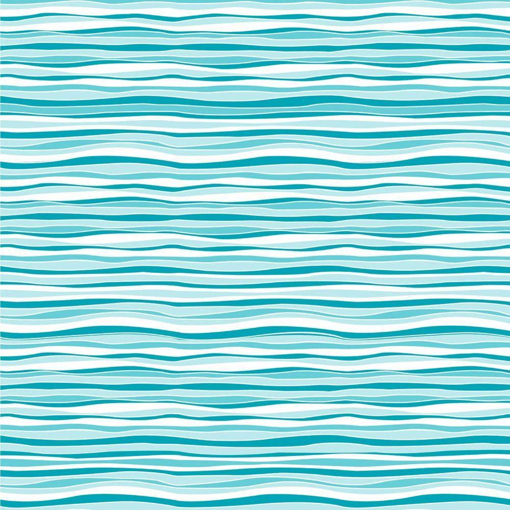 Creative Covering Marina Wave Adhesive Shelf Liner