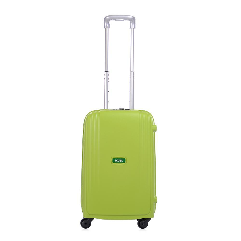 Lojel Streamline 21.75 in. Green Hardside Spinner Suitcase
