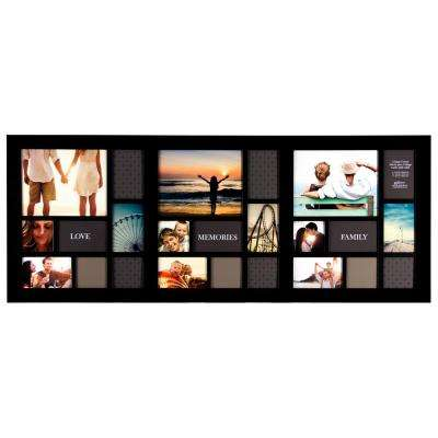 Wood - Pinnacle - Black - Wall Frames - Wall Decor - The Home Depot