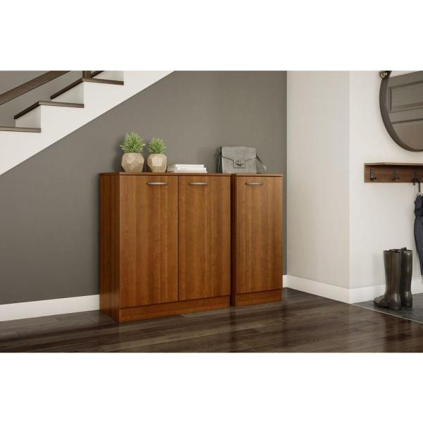 South Shore Axess Morgan Cherry Storage Cabinet 10192