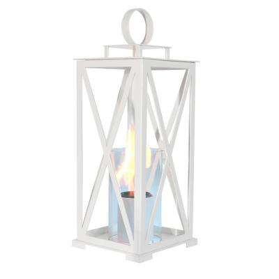 Madison 21 in. Lantern in White (Medium Size)