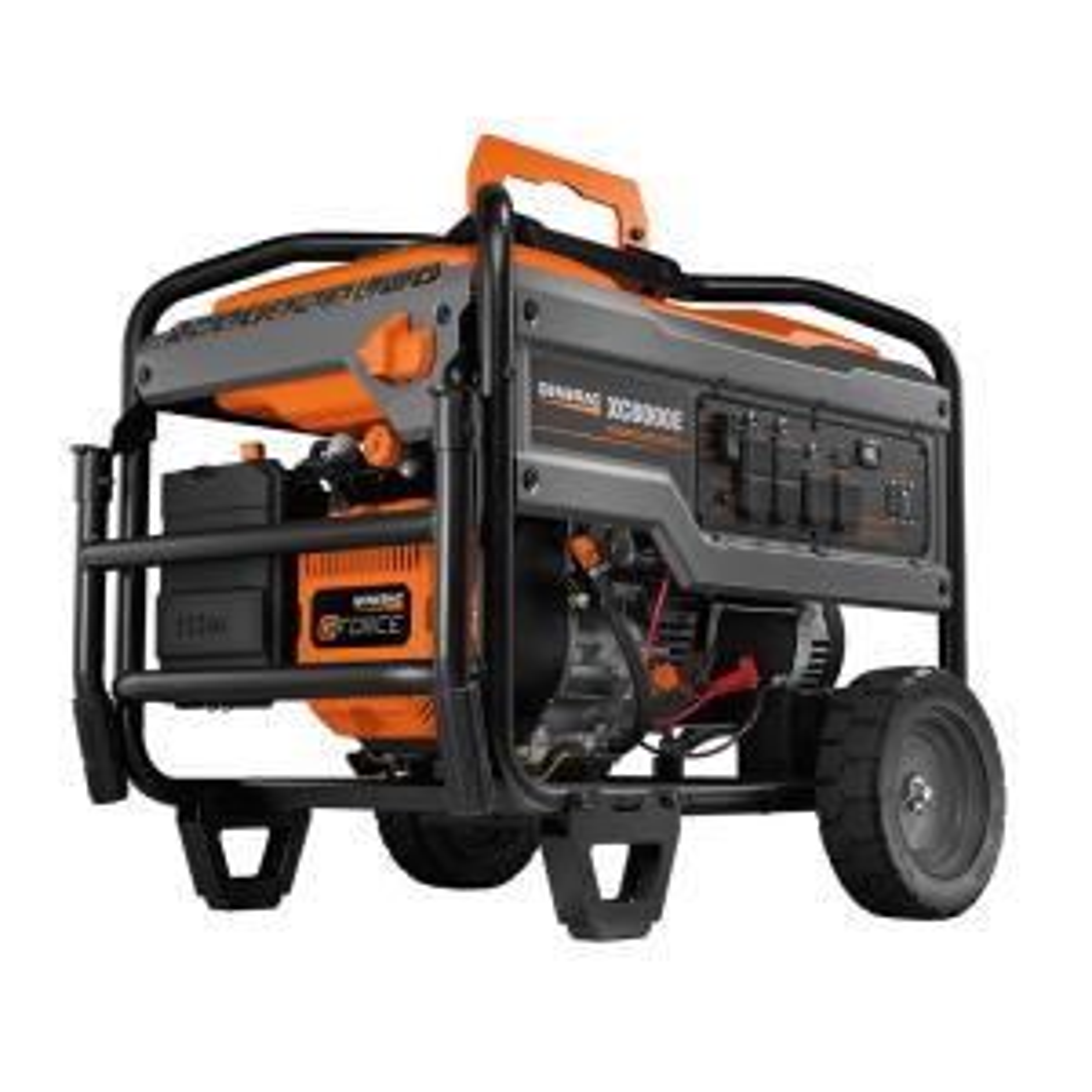 Generac XC 8000-Watt Electric-Start Gasoline Powered Portable Generator, 49/CSA by Generac