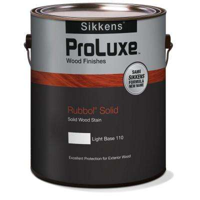 1 gal. White Rubbol Solid Exterior Wood Finish