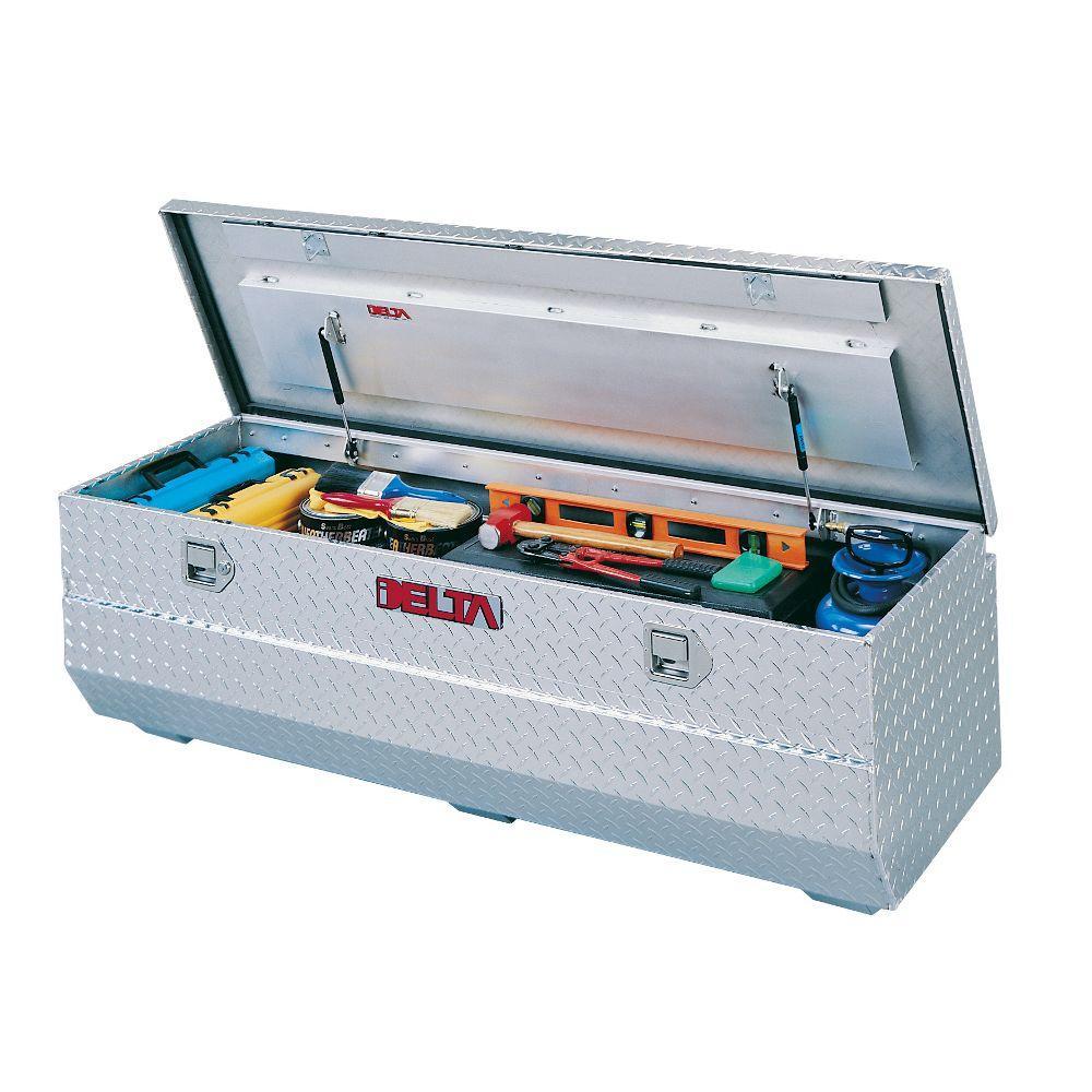 59-1/2 in. 0-Drawer Aluminum Full-Size Value Chest