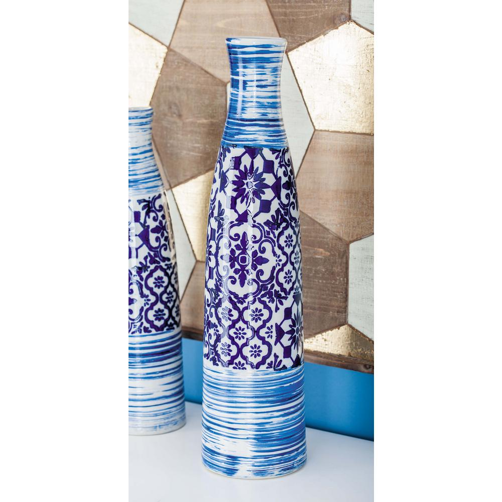 23 in oriental blue and white bottle shaped decorative vase 62177 oriental blue and white bottle shaped decorative vase reviewsmspy