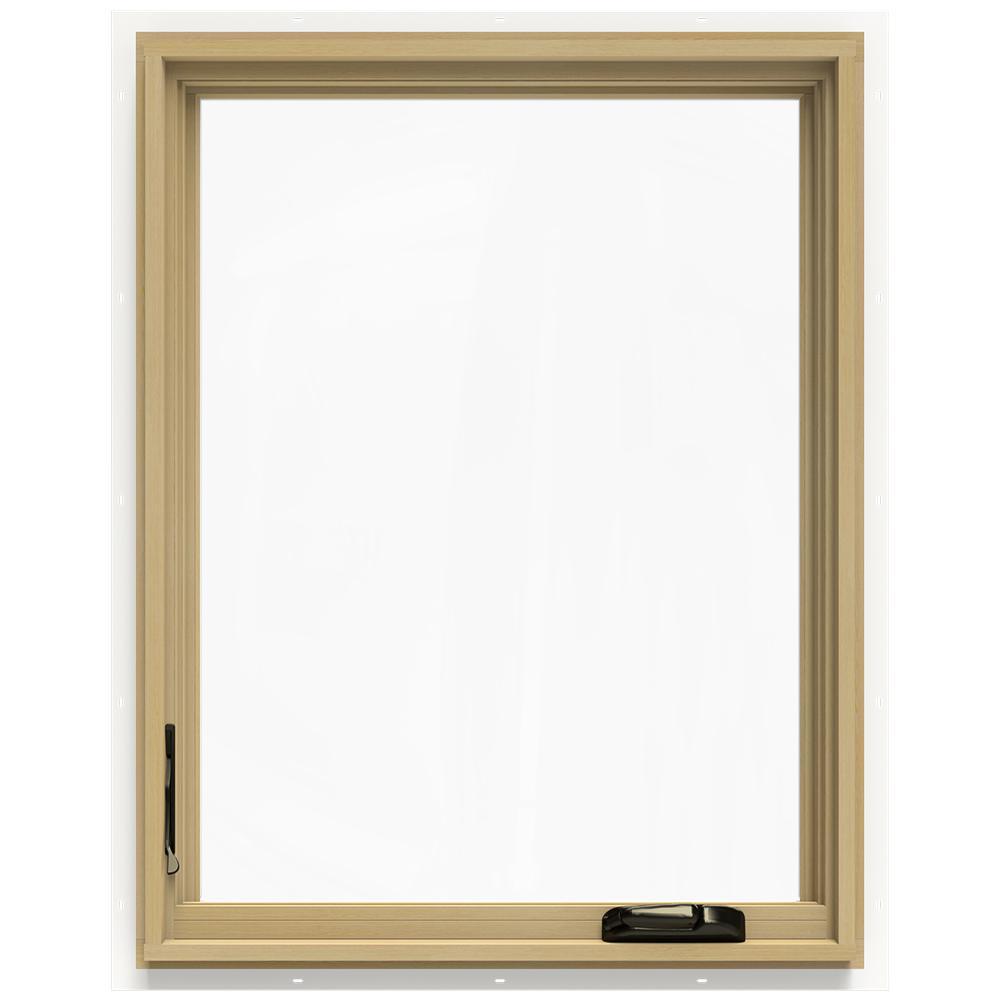 28.75 in. x 36.75 in. W-2500 Left-Hand Casement Wood Window