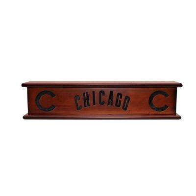 Chicago Cubs 1.7 ft. Memorabilia Cap-Shelf Mantel