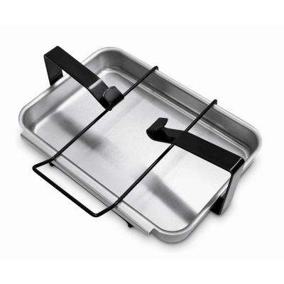 Replacement Catch Pan and Holder for Genesis 1000-5500/Silver/Gold/Platinum, Platinum I/II, Spirit, & Summit Gas Grill