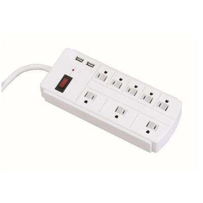 8-Outlet Surge Protector Power Strip