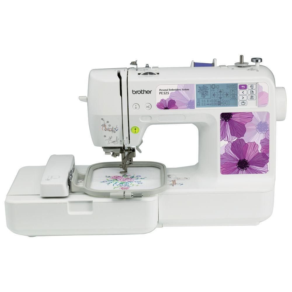 70-Stitch Embroidery Machine