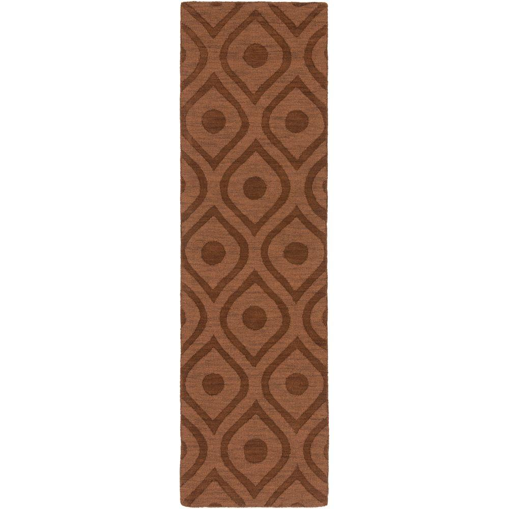 Central Park Zara Chocolate 2 ft. 3 in. x 8 ft.