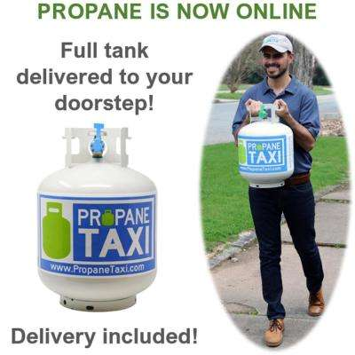 Propane Grill Tank Purchase with Next-Day Delivery