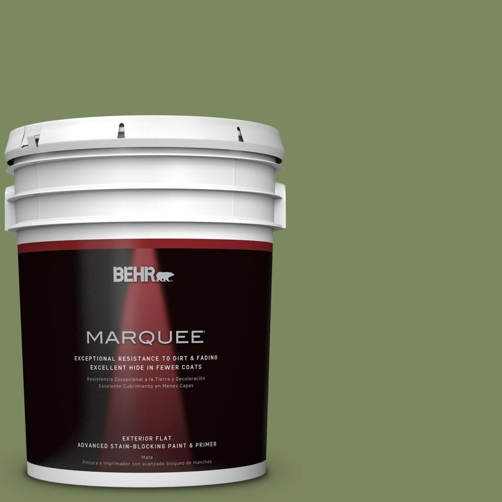 BEHR MARQUEE 5-gal. #PPU10-2 Tuscany Hillside Flat Exterior Paint