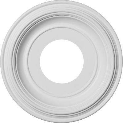 10 in. O.D. x 3-1/2 in. I.D. x 1-1/8 in.P Traditional Thermoformed PVC Ceiling Medallion (Fits Canopies up to 5-1/2 in.)