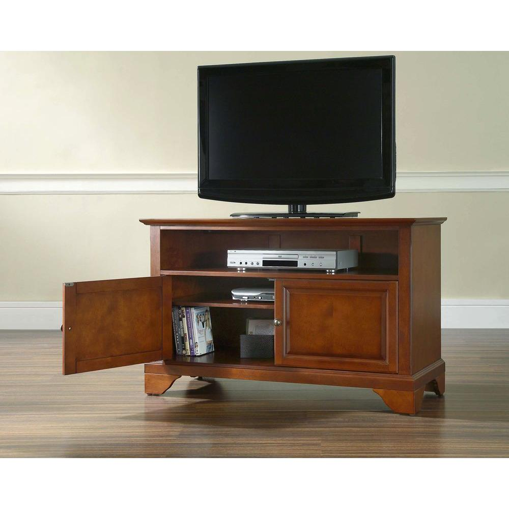 Crosley LaFayette Cherry (Red) Storage Entertainment Center
