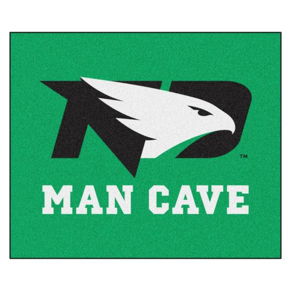 NCAA - University of North Dakota 5 ft. x 6 ft. Man Cave Tailgater Indoor Area Rug