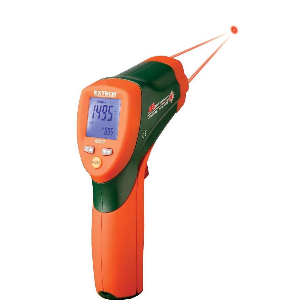 Extech Instruments 30 in. Dual Laser IR Thermometer